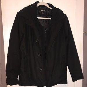 Black Men's Coat (Blazer Type)
